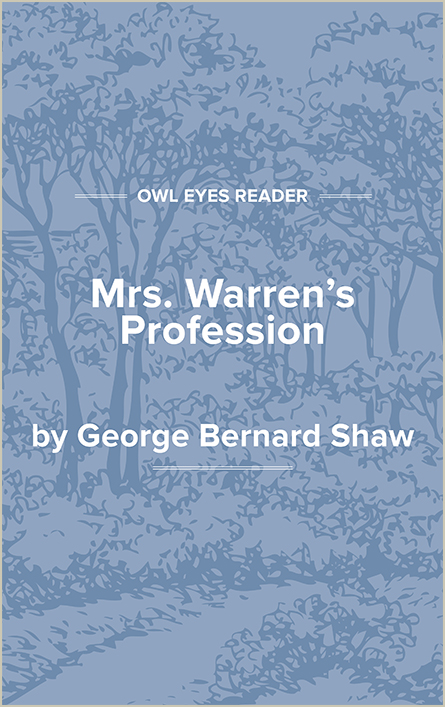 Mrs. Warren's Profession Cover Image