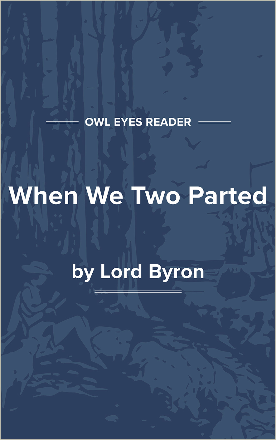 When We Two Parted Cover Image
