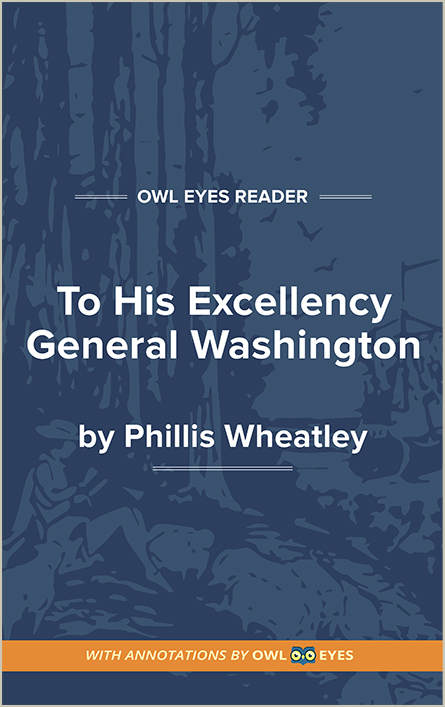 To His Excellency General Washington Cover Image