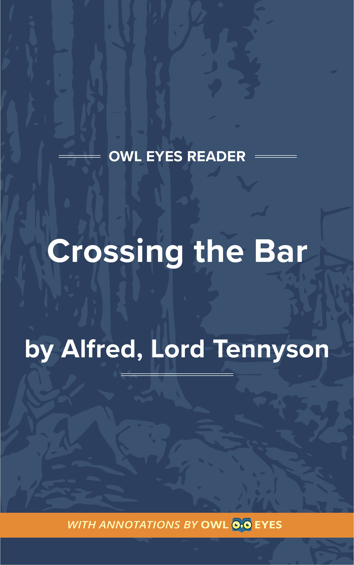 Crossing the Bar Cover Image