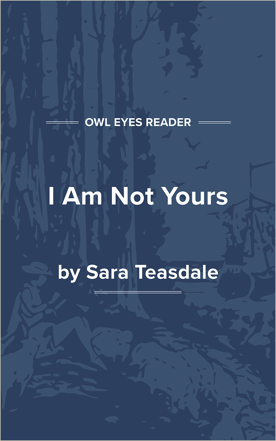 I Am Not Yours Cover Image