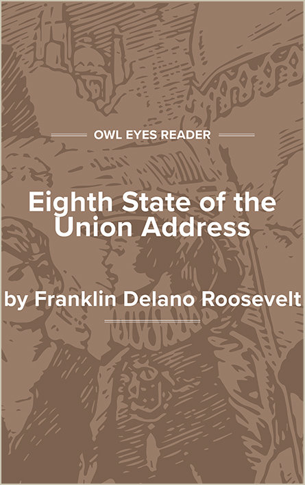 Eighth State of the Union Address Cover Image