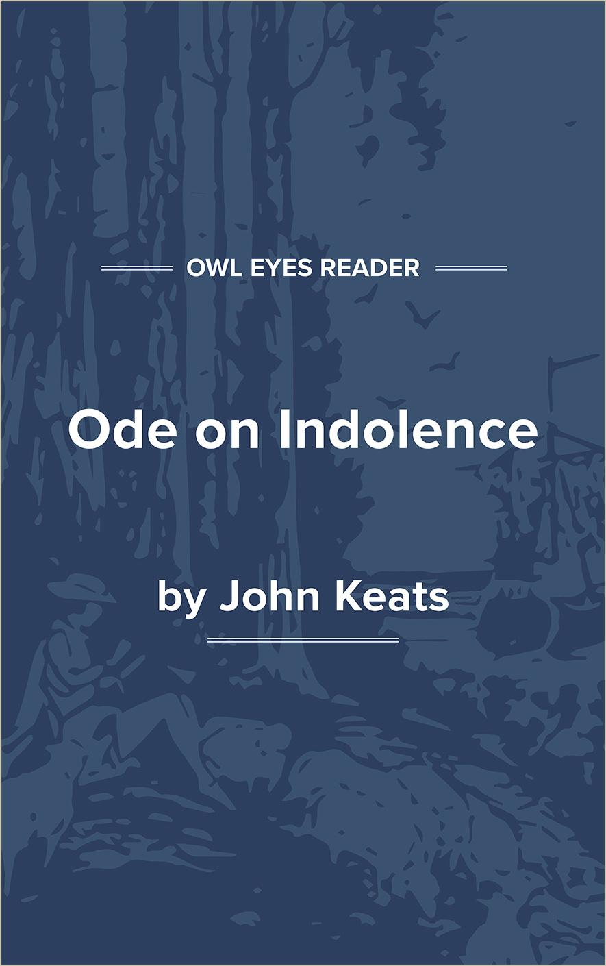 Ode on Indolence Cover Image