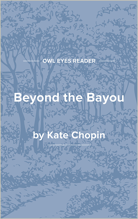 Beyond the Bayou Cover Image