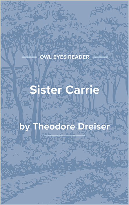 Sister Carrie Cover Image