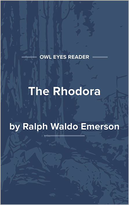 The Rhodora Cover Image