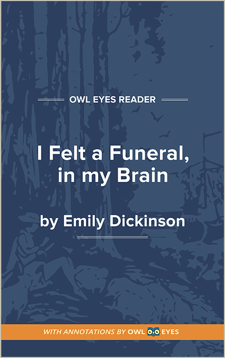 I felt a Funeral, in my Brain Cover Image