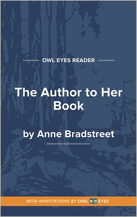 The Author to Her Book  Cover Image