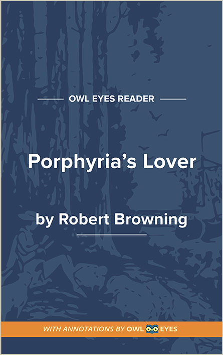 Porphyria's Lover Cover Image