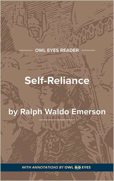 emerson self reliance text