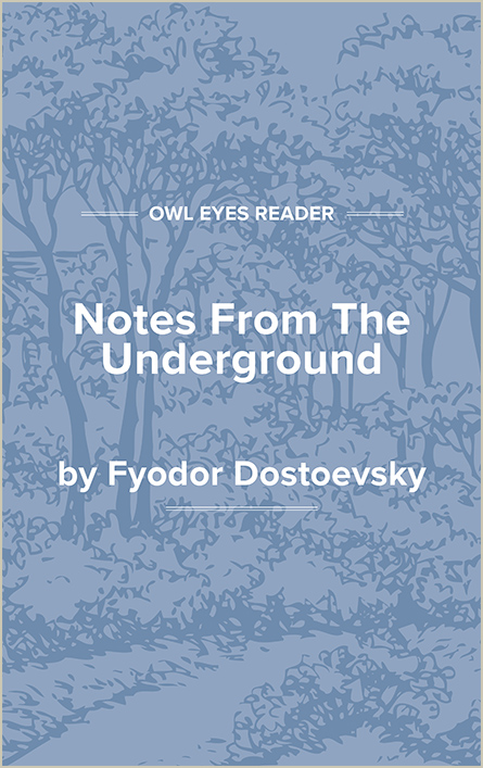 Notes From The Underground Cover Image