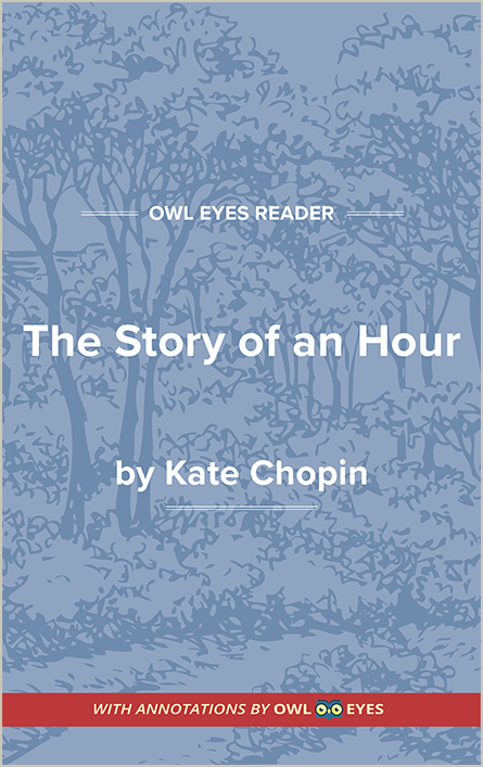 literary devices in the story of an hour