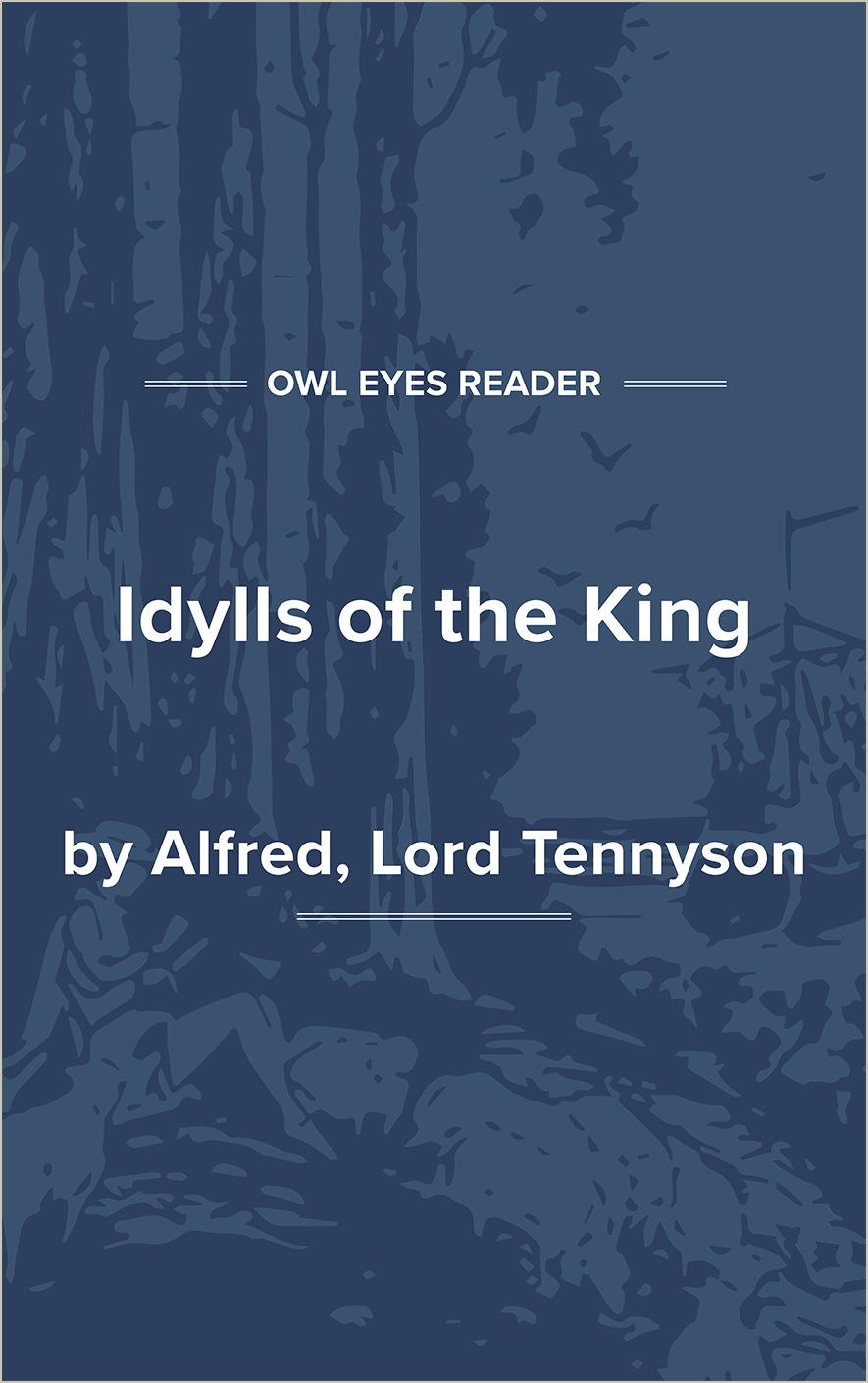 Idylls King Cover Image