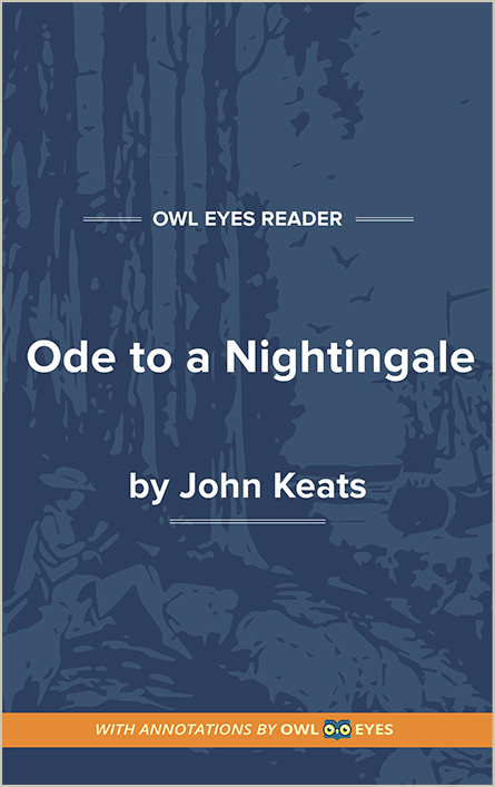Ode to a Nightingale Cover Image