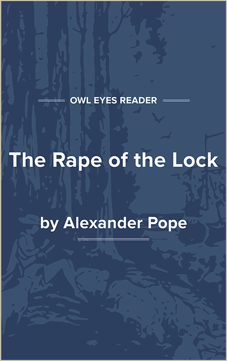 The Rape of the Lock Cover Image