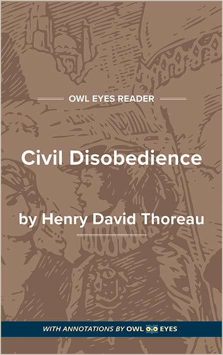 Civil Disobedience Cover Image