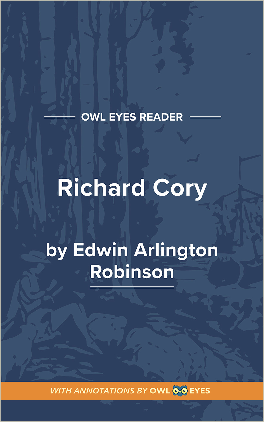 Richard Cory Cover Image