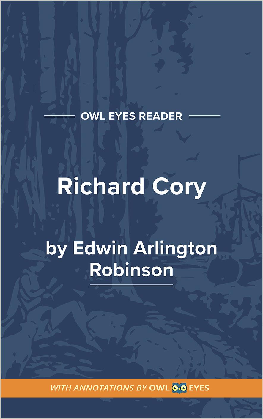 Richard Cory Cover Image