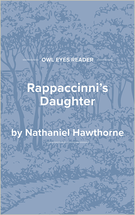 Rappaccini's Daughter Cover Image