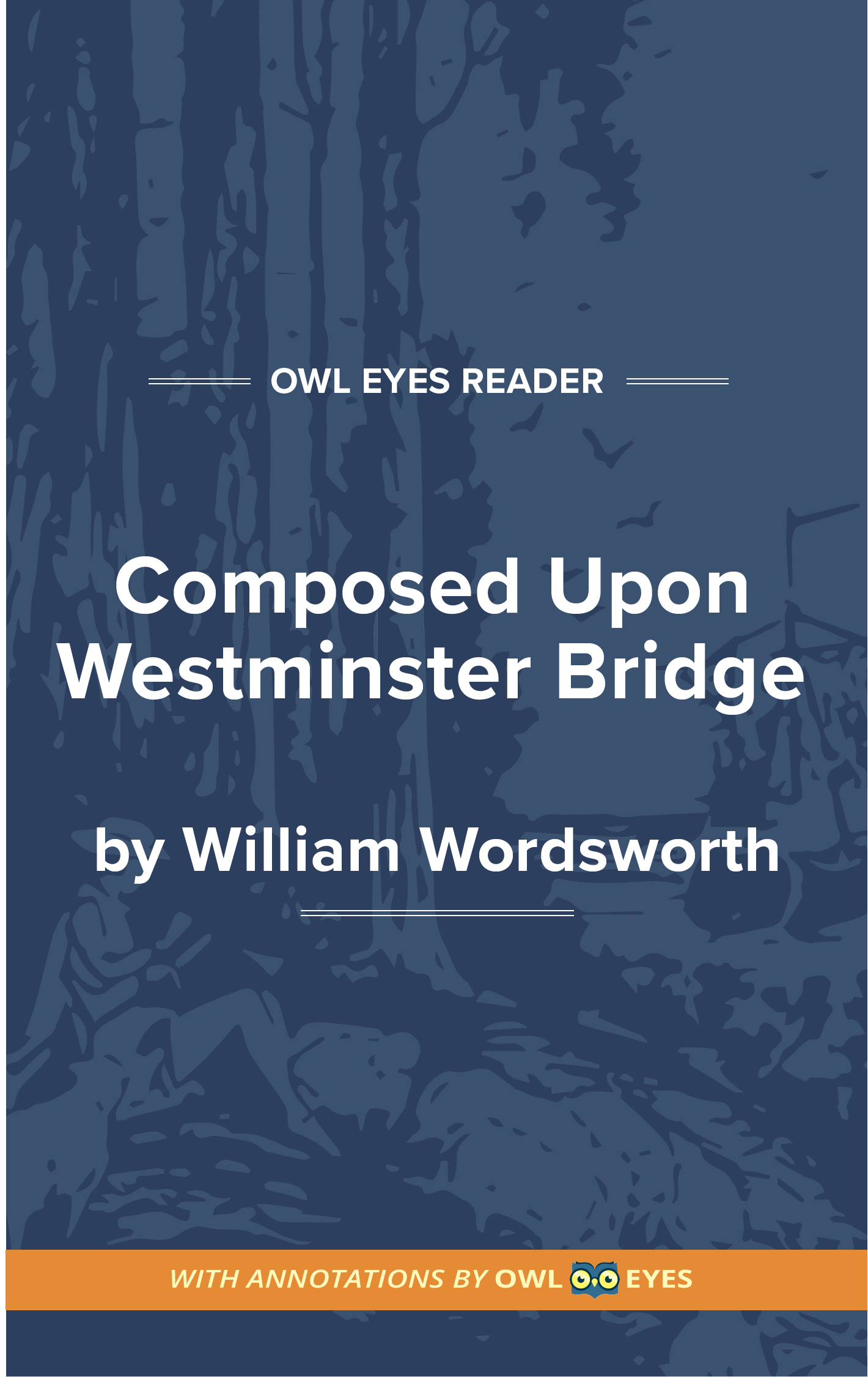 Composed upon Westminster Bridge, September 3, 1802 Cover Image