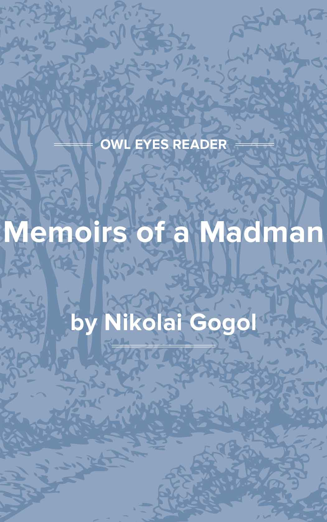 Memoirs of a Madman Cover Image