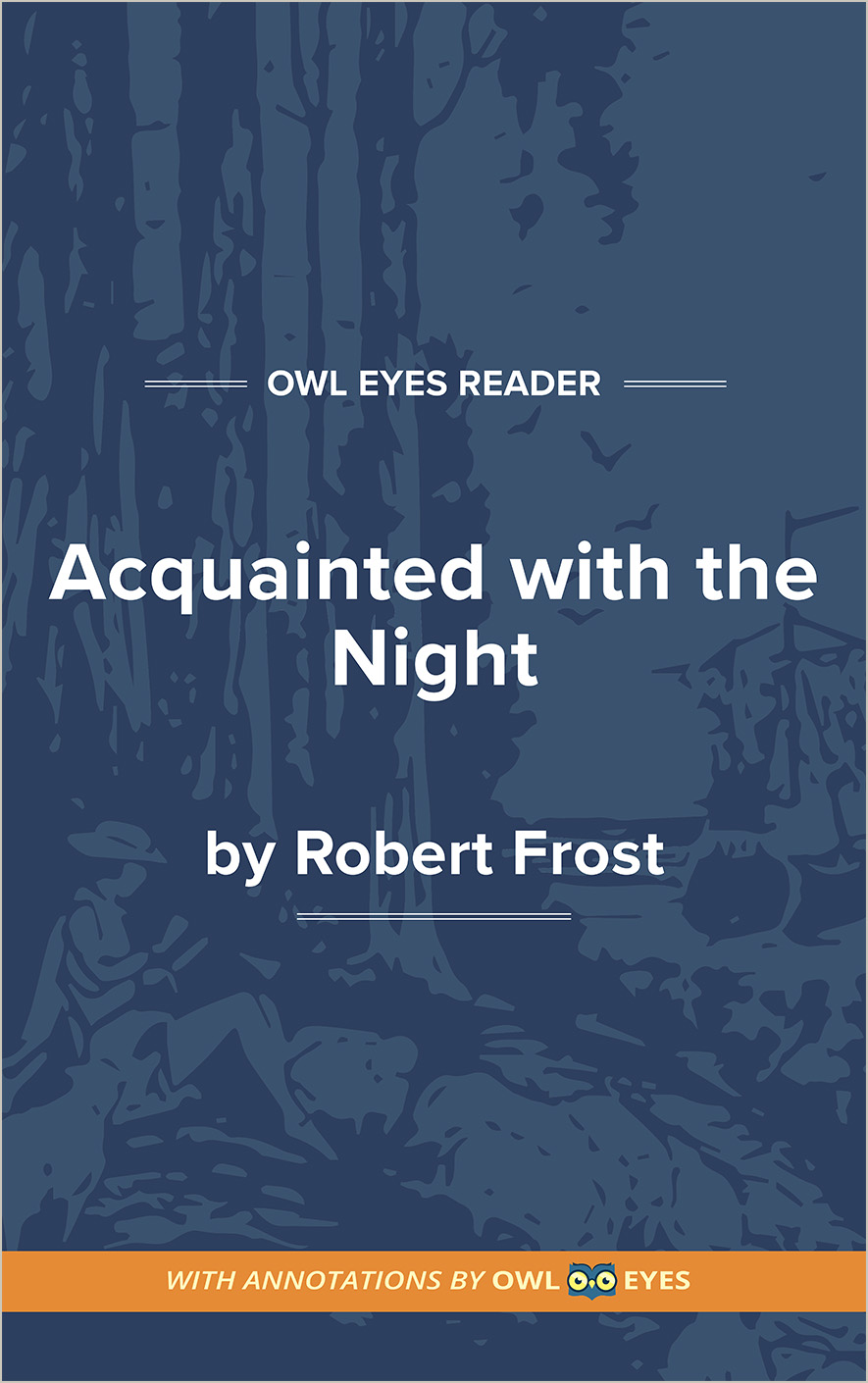 Acquainted with the Night Cover Image
