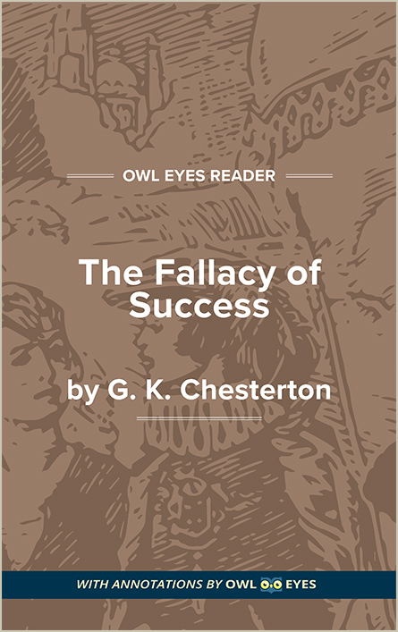 The Fallacy of Success Cover Image