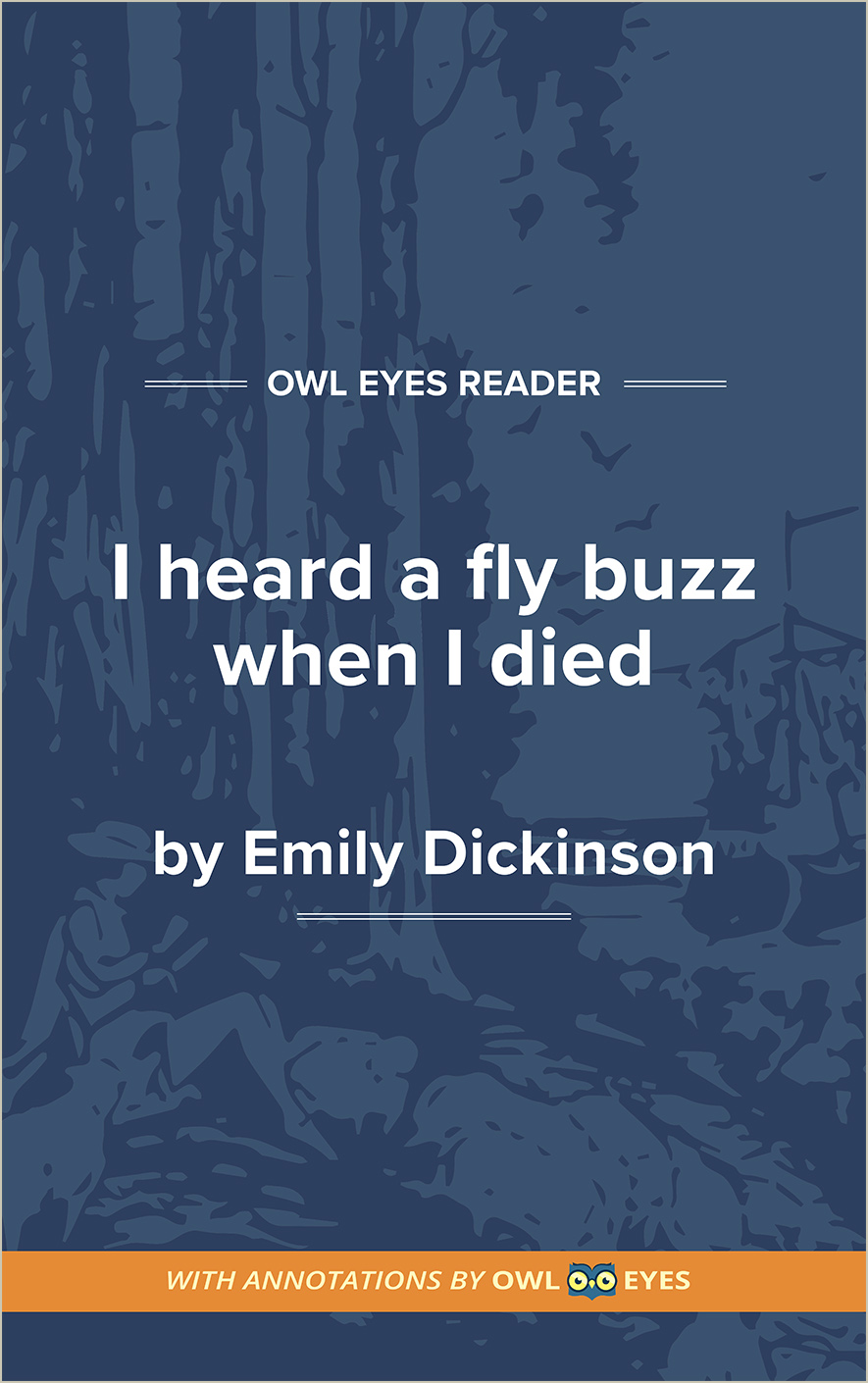 I Heard a Fly Buzz When I Died Cover Image