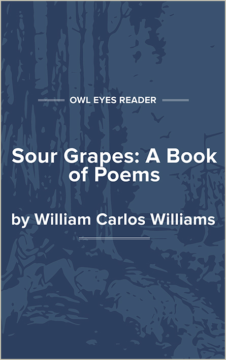 Sour Grapes: A Book of Poems Cover Image
