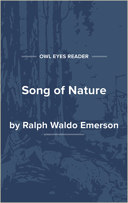 Song of Nature Cover Image
