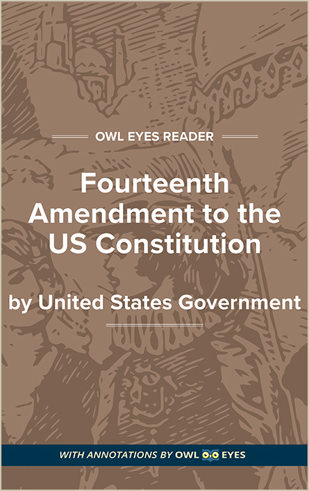 Fourteenth Amendment to the US Constitution Cover Image