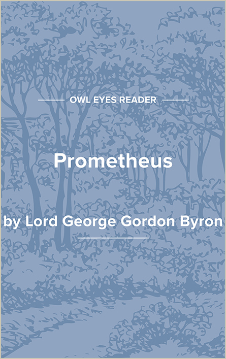 Prometheus Cover Image