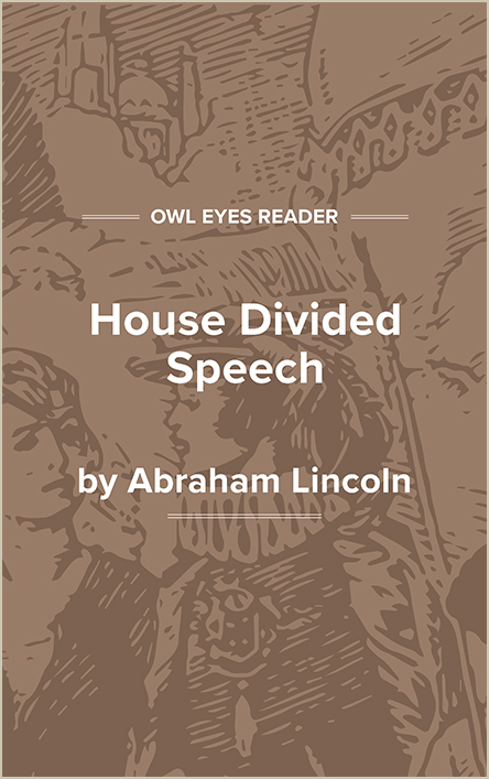 House Divided Speech Cover Image