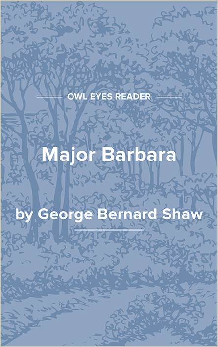 Major Barbara Cover Image