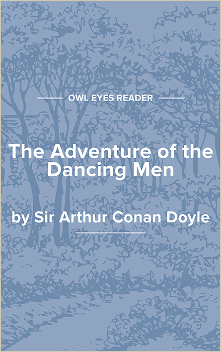 The Adventure of the Dancing Men Cover Image
