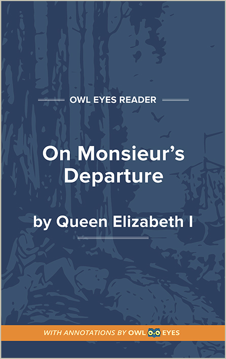 On Monsieur's Departure Cover Image