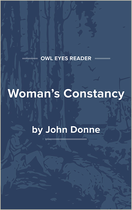 Woman's Constancy Cover Image