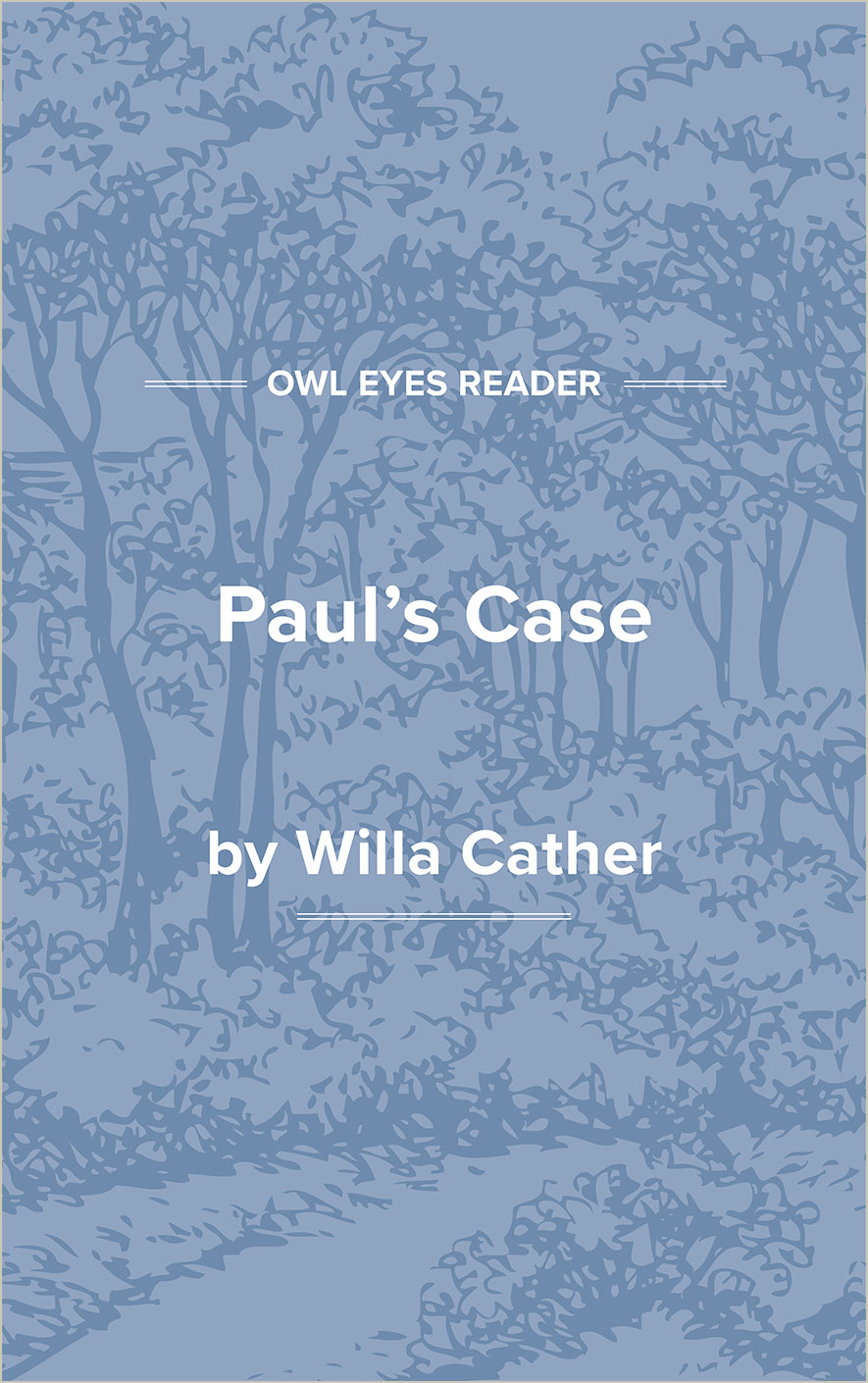 Paul's Case Cover Image