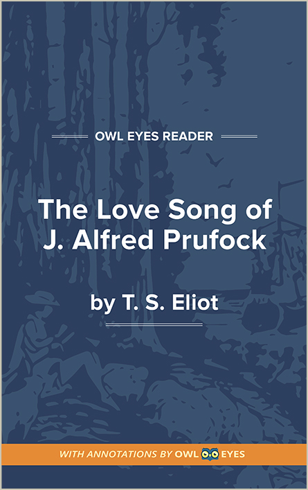 The Love Song of J. Alfred Prufrock Cover Image