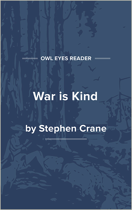 War Is Kind Cover Image