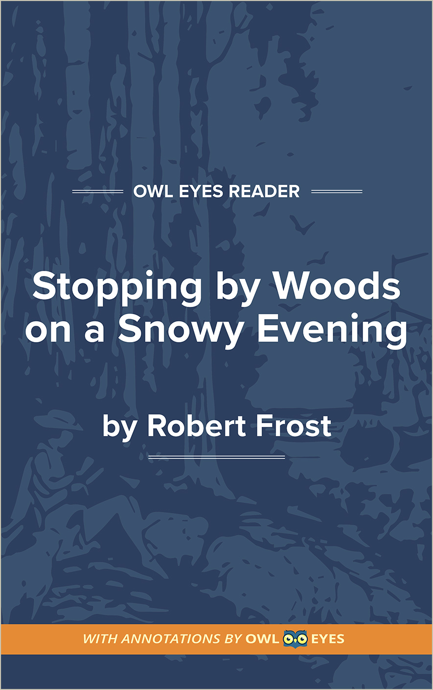 Stopping by Woods on a Snowy Evening Cover Image