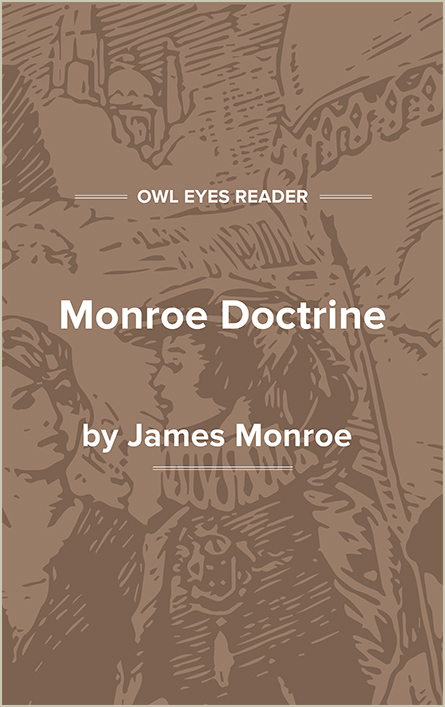 Monroe Doctrine Cover Image