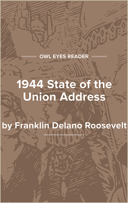 Eleventh State of the Union Address Cover Image