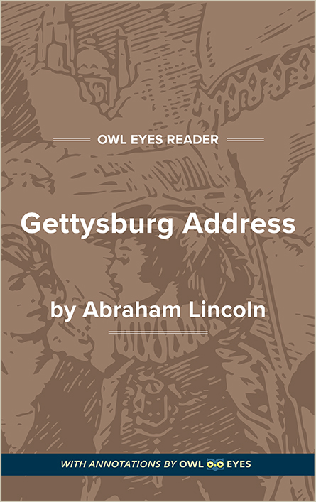 Gettysburg Address Cover Image