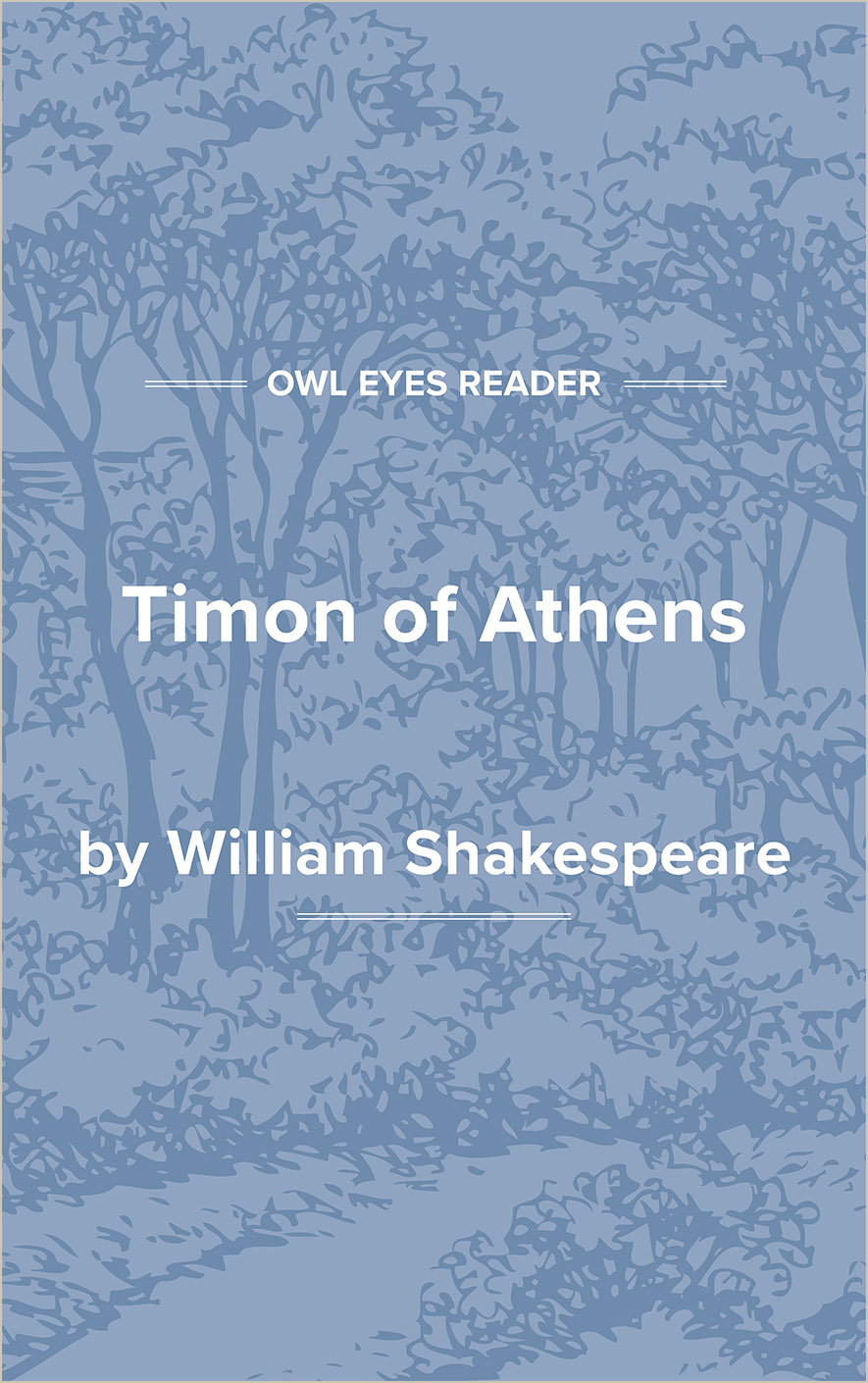 Timon of Athens Cover Image