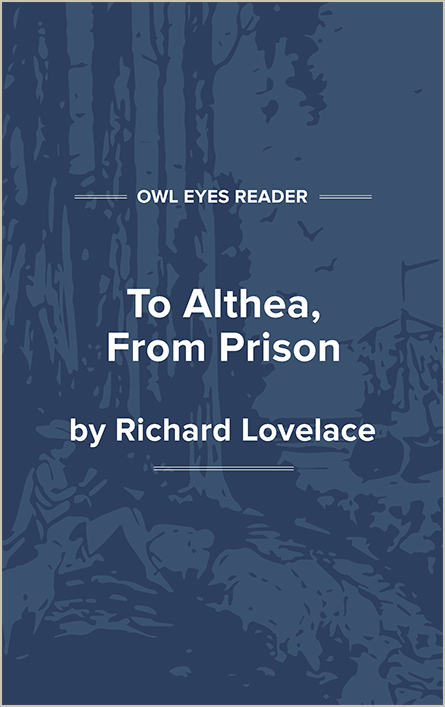To Althea, From Prison Cover Image