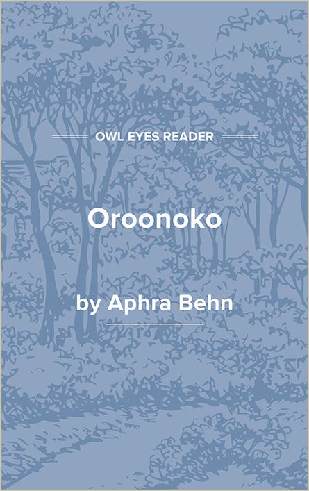 Oroonoko Cover Image