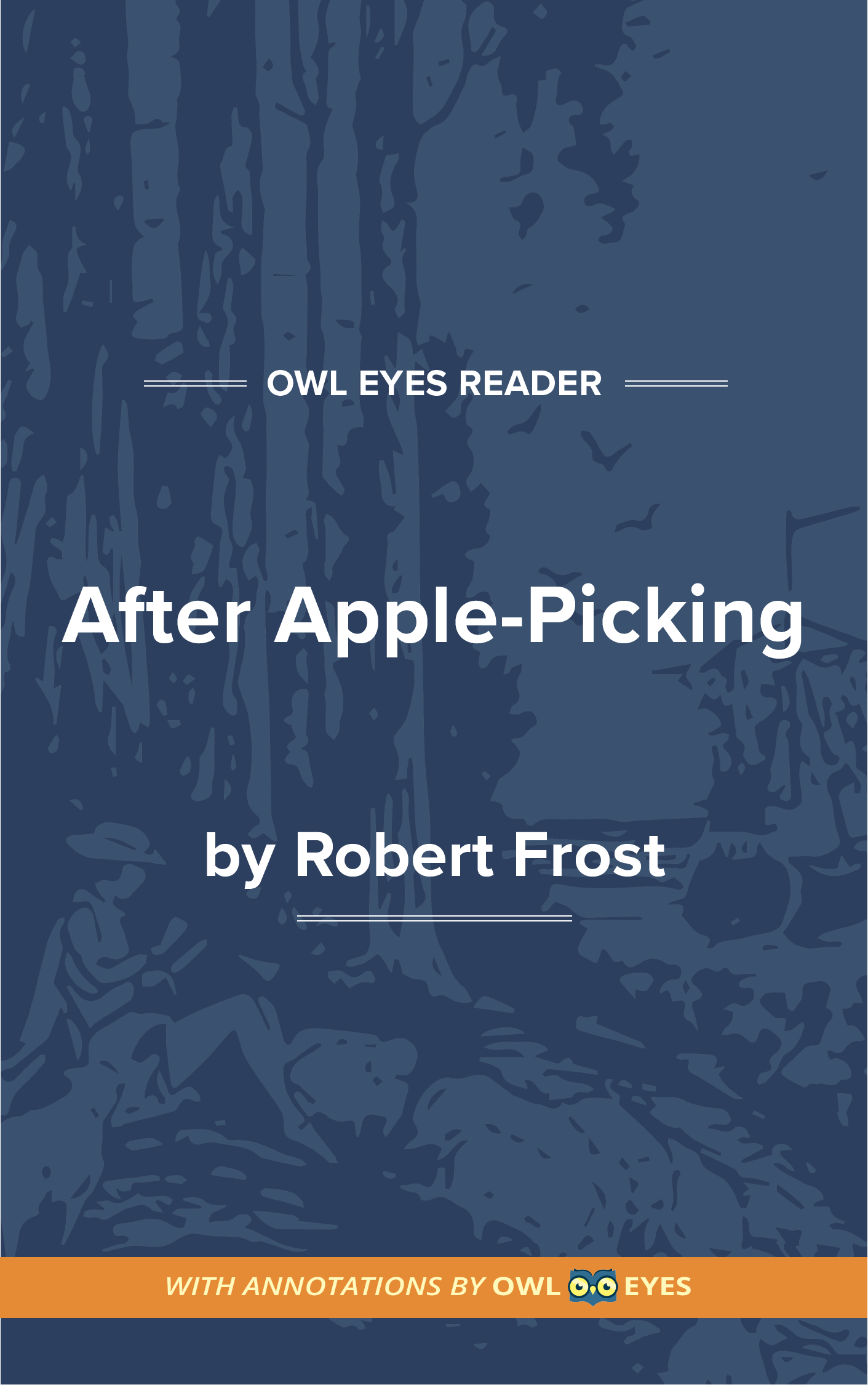After Apple-Picking Cover Image