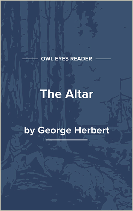 The Altar Cover Image