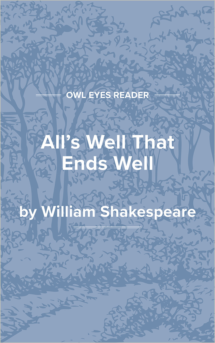 All's Well That Ends Well Cover Image